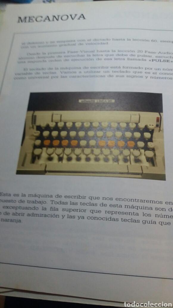 Libros de segunda mano: ANTIGUO LIBRO CURSO AUDIOVISUAL DE MECANOGRAFÍA AL TACTO - Foto 4 - 74251593
