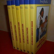 Libros de segunda mano: SERIE SANTA CLARA - ENID BLYTON - COLECCIÓN COMPLETA 6 LIBROS. Lote 128899403