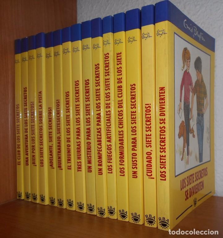 Serie los siete secretos enid blyton colecc comprar en todocoleccion 74277227 - Libreria segunda mano online ...