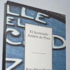 Libros de segunda mano: EL LICENCIADO ANDRÉS DE POZA - ROSA MIREN PAGOLA (COLECCIÓN TEMAS VIZCAÍNOS Nº 258) BBK. Lote 74337027