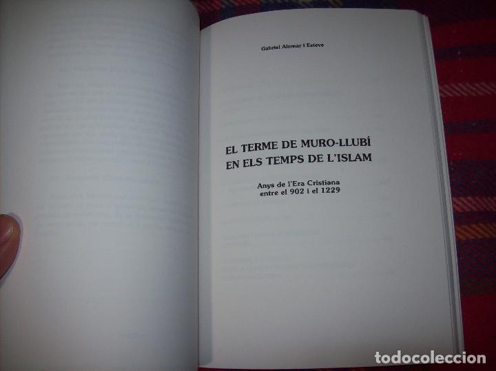 Libros de segunda mano: HISTÒRIA DE MURO. 4 VOLUMS.PREHISTÒRIA - 1229 / 1229-1349 / 1350 - 1516 /1516 - 1715 . MALLORCA - Foto 13 - 138065616