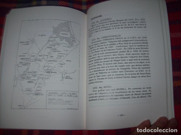 Libros de segunda mano: HISTÒRIA DE MURO. 4 VOLUMS.PREHISTÒRIA - 1229 / 1229-1349 / 1350 - 1516 /1516 - 1715 . MALLORCA - Foto 20 - 138065616