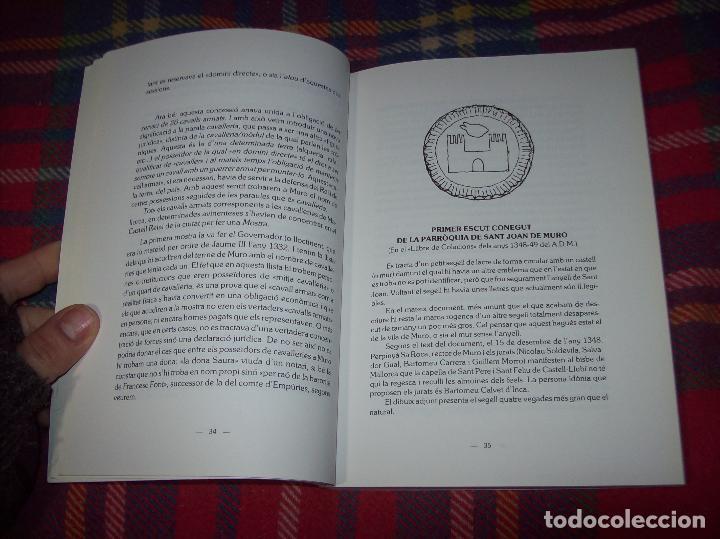 Libros de segunda mano: HISTÒRIA DE MURO. 4 VOLUMS.PREHISTÒRIA - 1229 / 1229-1349 / 1350 - 1516 /1516 - 1715 . MALLORCA - Foto 30 - 138065616