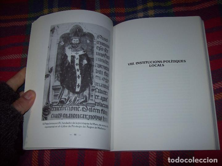 Libros de segunda mano: HISTÒRIA DE MURO. 4 VOLUMS.PREHISTÒRIA - 1229 / 1229-1349 / 1350 - 1516 /1516 - 1715 . MALLORCA - Foto 33 - 138065616