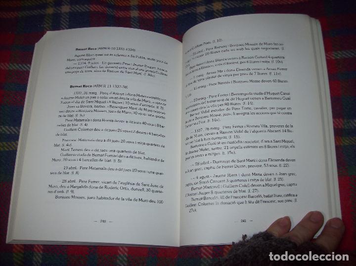 Libros de segunda mano: HISTÒRIA DE MURO. 4 VOLUMS.PREHISTÒRIA - 1229 / 1229-1349 / 1350 - 1516 /1516 - 1715 . MALLORCA - Foto 39 - 138065616