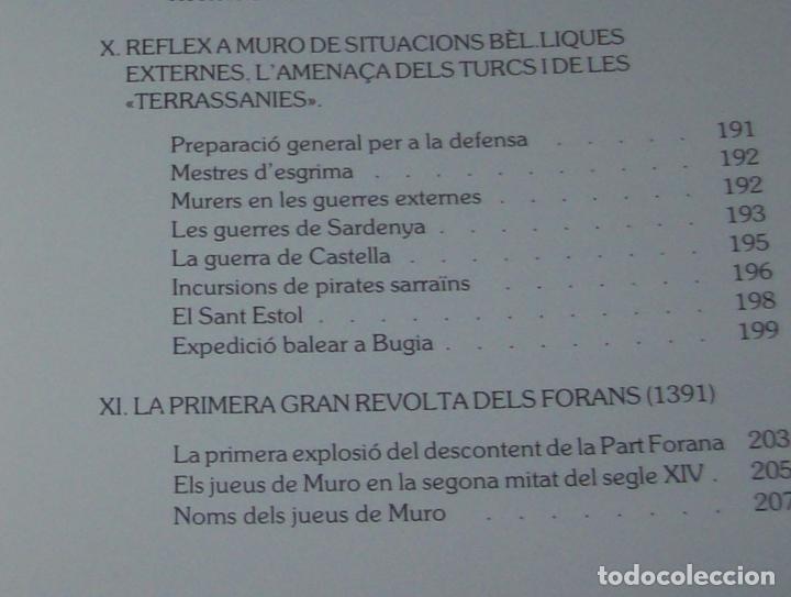 Libros de segunda mano: HISTÒRIA DE MURO. 4 VOLUMS.PREHISTÒRIA - 1229 / 1229-1349 / 1350 - 1516 /1516 - 1715 . MALLORCA - Foto 50 - 138065616