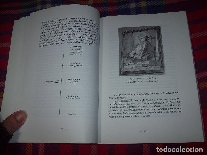 Libros de segunda mano: HISTÒRIA DE MURO. 4 VOLUMS.PREHISTÒRIA - 1229 / 1229-1349 / 1350 - 1516 /1516 - 1715 . MALLORCA - Foto 53 - 138065616