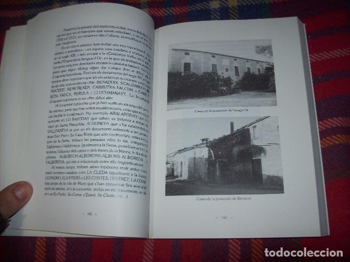 Libros de segunda mano: HISTÒRIA DE MURO. 4 VOLUMS.PREHISTÒRIA - 1229 / 1229-1349 / 1350 - 1516 /1516 - 1715 . MALLORCA - Foto 57 - 138065616