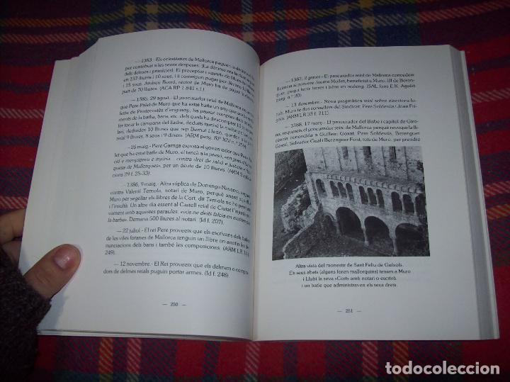 Libros de segunda mano: HISTÒRIA DE MURO. 4 VOLUMS.PREHISTÒRIA - 1229 / 1229-1349 / 1350 - 1516 /1516 - 1715 . MALLORCA - Foto 62 - 138065616