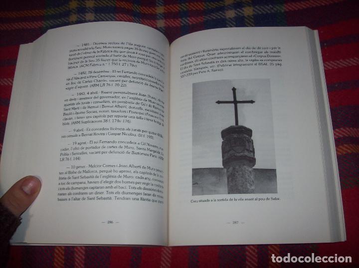 Libros de segunda mano: HISTÒRIA DE MURO. 4 VOLUMS.PREHISTÒRIA - 1229 / 1229-1349 / 1350 - 1516 /1516 - 1715 . MALLORCA - Foto 63 - 138065616