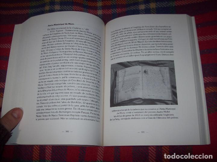 Libros de segunda mano: HISTÒRIA DE MURO. 4 VOLUMS.PREHISTÒRIA - 1229 / 1229-1349 / 1350 - 1516 /1516 - 1715 . MALLORCA - Foto 64 - 138065616