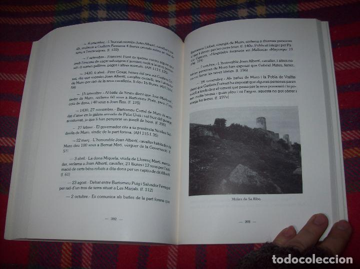 Libros de segunda mano: HISTÒRIA DE MURO. 4 VOLUMS.PREHISTÒRIA - 1229 / 1229-1349 / 1350 - 1516 /1516 - 1715 . MALLORCA - Foto 65 - 138065616