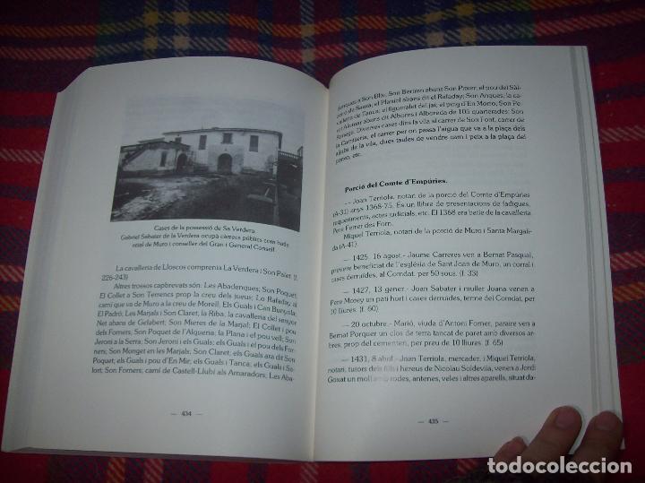 Libros de segunda mano: HISTÒRIA DE MURO. 4 VOLUMS.PREHISTÒRIA - 1229 / 1229-1349 / 1350 - 1516 /1516 - 1715 . MALLORCA - Foto 66 - 138065616
