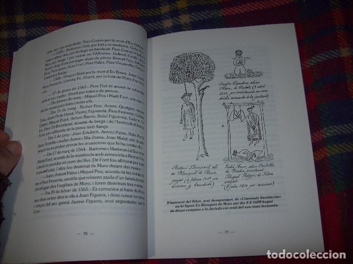 Libros de segunda mano: HISTÒRIA DE MURO. 4 VOLUMS.PREHISTÒRIA - 1229 / 1229-1349 / 1350 - 1516 /1516 - 1715 . MALLORCA - Foto 79 - 138065616