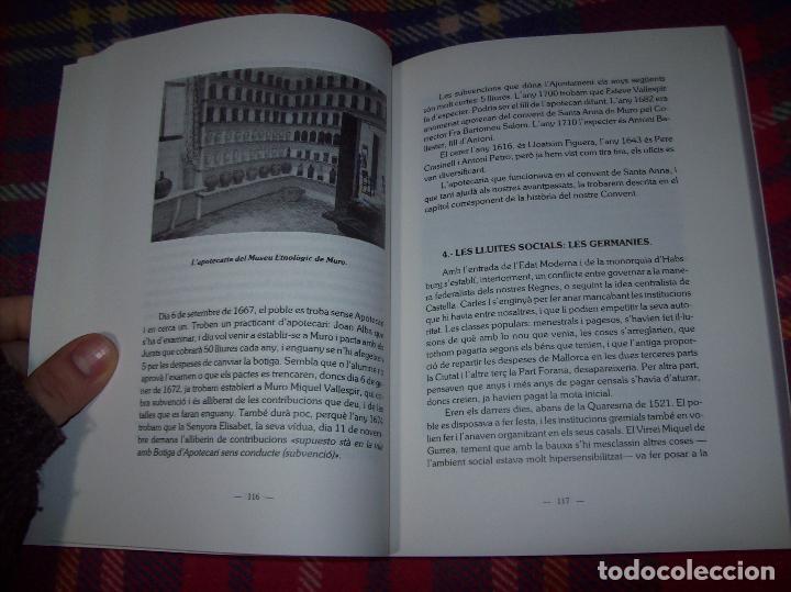 Libros de segunda mano: HISTÒRIA DE MURO. 4 VOLUMS.PREHISTÒRIA - 1229 / 1229-1349 / 1350 - 1516 /1516 - 1715 . MALLORCA - Foto 81 - 138065616