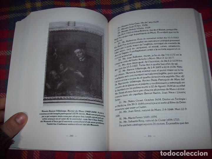 Libros de segunda mano: HISTÒRIA DE MURO. 4 VOLUMS.PREHISTÒRIA - 1229 / 1229-1349 / 1350 - 1516 /1516 - 1715 . MALLORCA - Foto 86 - 138065616