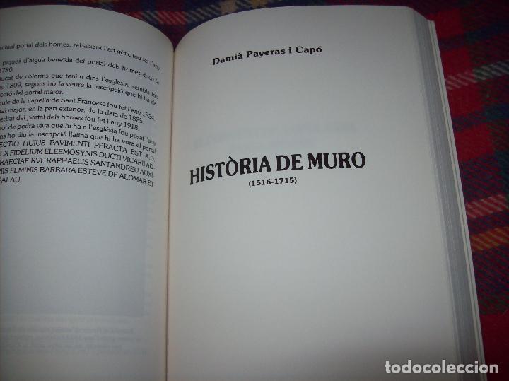Libros de segunda mano: HISTÒRIA DE MURO. 4 VOLUMS.PREHISTÒRIA - 1229 / 1229-1349 / 1350 - 1516 /1516 - 1715 . MALLORCA - Foto 88 - 138065616
