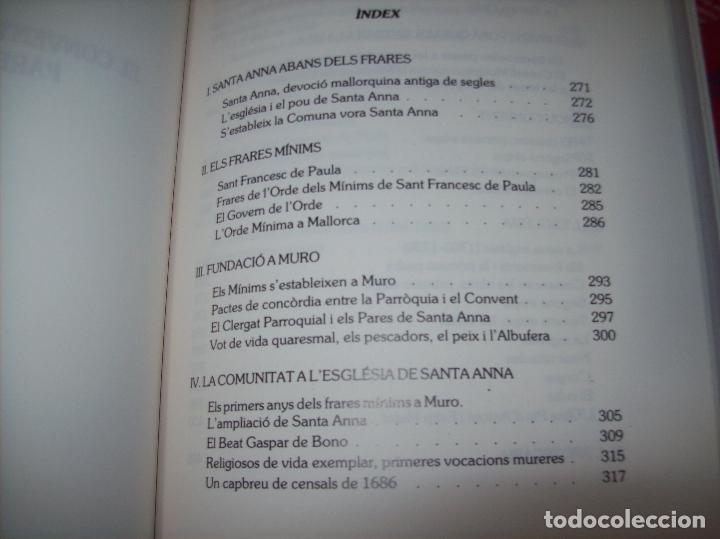 Libros de segunda mano: HISTÒRIA DE MURO. 4 VOLUMS.PREHISTÒRIA - 1229 / 1229-1349 / 1350 - 1516 /1516 - 1715 . MALLORCA - Foto 89 - 138065616