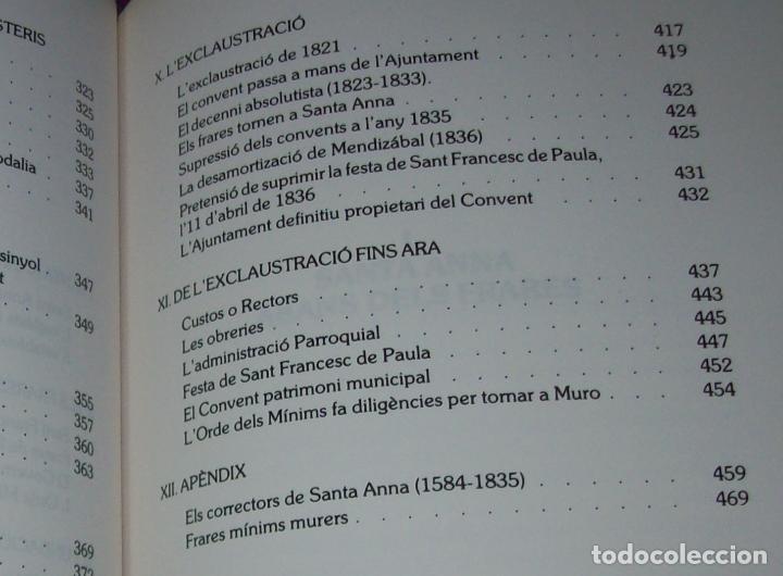 Libros de segunda mano: HISTÒRIA DE MURO. 4 VOLUMS.PREHISTÒRIA - 1229 / 1229-1349 / 1350 - 1516 /1516 - 1715 . MALLORCA - Foto 93 - 138065616