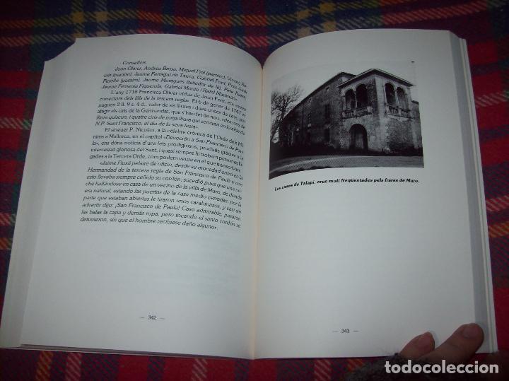 Libros de segunda mano: HISTÒRIA DE MURO. 4 VOLUMS.PREHISTÒRIA - 1229 / 1229-1349 / 1350 - 1516 /1516 - 1715 . MALLORCA - Foto 96 - 138065616