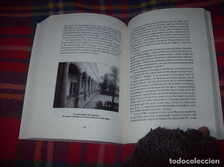 Libros de segunda mano: HISTÒRIA DE MURO. 4 VOLUMS.PREHISTÒRIA - 1229 / 1229-1349 / 1350 - 1516 /1516 - 1715 . MALLORCA - Foto 97 - 138065616