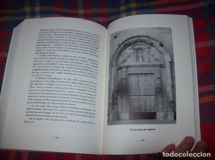 Libros de segunda mano: HISTÒRIA DE MURO. 4 VOLUMS.PREHISTÒRIA - 1229 / 1229-1349 / 1350 - 1516 /1516 - 1715 . MALLORCA - Foto 101 - 138065616