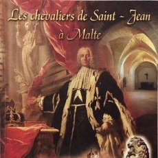 Livres d'occasion: LES CHEVALIERS DE SAINT-JEAN À MALTE. (ORDEN DE MALTA. HISTORIA. ORDEN MILITAR Y HOSPITALARIA (ILUST. Lote 74506263