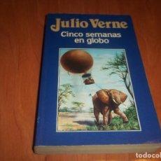 Libros de segunda mano: CINCO SEMANAS EN GLOBO JULIO VERNE EDICIONES ORBIS 1986. Lote 74553631