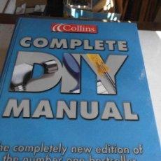 Libros de segunda mano: LIBRO COMPLETE DIY MANUAL COLLINS 2001 ESCRITO EN INGLES I-37. Lote 74604643