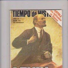 Libros de segunda mano: TIEMPO DE HISTORIA - Nº 44 / JULIO 1978. Lote 74606635