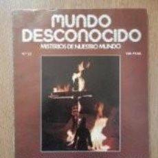 Libros de segunda mano: MUNDO DESCONOCIDO. MISTERIOS DE NUESTRO MUNDO. Nº 23. Lote 74609127