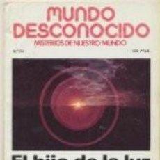 Libros de segunda mano: MUNDO DESCONOCIDO. MISTERIOS DE NUESTRO MUNDO, Nº 30. Lote 74615119