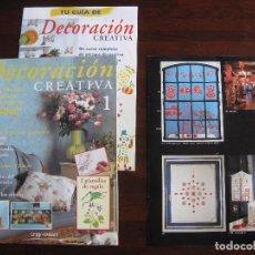 Libros de segunda mano: DECORACIÓN CREATIVA. IDEAS, TÉCNICAS Y SOLUCIONES INGENIOSAS PARA DECORAR TU CASA CON PINTURAS. Lote 143855573