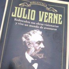 Libros de segunda mano: FOLLETO INTRODUCTORIO A LA COLECCIÓN JULIO VERNE & HETZEL - VIAJES EXTRAORDINARIOS - 12 PGS. Lote 74652123
