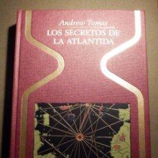 Libros de segunda mano: LIBRO - COLECCIÓN OTROS MUNDOS - LOS SECRETOS DE LA ATLÁNTIDA - ANDREW THOMAS - PLAZA @ JANES 1ª ED.. Lote 74654307
