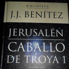 Libros de segunda mano - Caballo de Troya 1, Jerusalén, JJ Benítez, ed. Planeta DeAgostini - 74677275