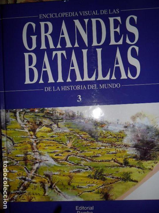 GRANDES BATALLAS DEL MUNDO 3, ED. ROMBO (Libros de Segunda Mano - Historia - Otros)