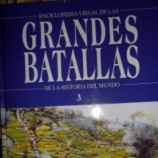 Libros de segunda mano: GRANDES BATALLAS DEL MUNDO 3, ED. ROMBO. Lote 74693803