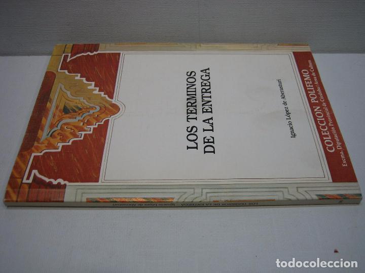 Libros de segunda mano: Los términos de la entrega por Ignacio López de Aberasturi 1993 - Foto 4 - 74791443
