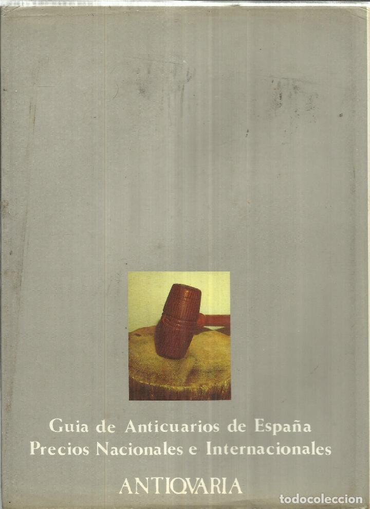 Libros de segunda mano: GUÍA DE PRECIOS 199. PINTURA, RELOJES, PORCELONA. ANTIQUARIA. MADRID. 1990 30 - Foto 3 - 74793355