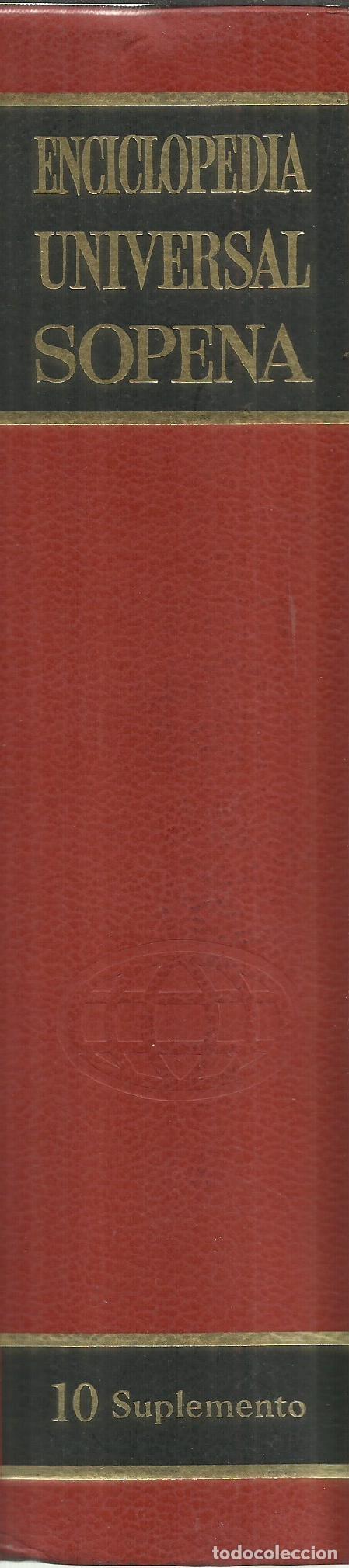 Libros de segunda mano: ENCICLOPEDIA UNIVERSAL SOPENA. TOMO 10. EDITORIAL RAMÓN SOPENA. BARCELONA. 1973 - Foto 2 - 74801015