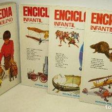 Libros de segunda mano: ENCICLOPEDIA INFANTIL MOLINO, AÑO 1974, 3 TOMOS CON CAJA ESTUCHE. Lote 74907043