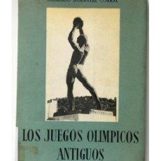 Libros de segunda mano: LOS JUEGOS OLIMPICOS ANTIGUOS. Lote 74963025