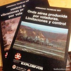 Libros de segunda mano: JORNADAS TÉCNICAS E.R.T- 2 LIBRETOS. Lote 75153463