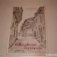Libros de segunda mano: JUAN NAYA PÉREZ. CALLES Y PLAZAS CORUÑESAS. VOLUMEN 1. RMT78742. . Lote 104304708