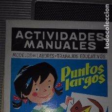Libros de segunda mano - ACTIVIDADES MANUALES. MODELOS DE LABORES. PUNTOS LARGOS. SALVATELLA. NUMERO 34. - 75209307