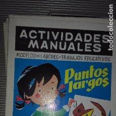 Libros de segunda mano - ACTIVIDADES MANUALES. SALVATELLA. NUMERO 34. PUNTOS LARGOS. - 75210107