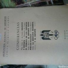 Libros de segunda mano: LIBRETO COMITÉ OLÍMPICO ESPAÑOL . Lote 75243957