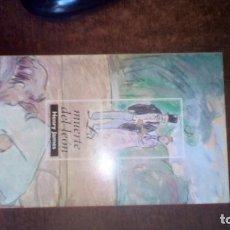 Libros de segunda mano: MUERTE DEL LEÓN. HENRY JAMES. Lote 75309539