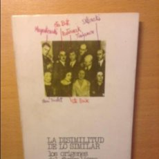 Libros de segunda mano: LA DISIMILITUD DE LO SIMILAR - VICTOR SKLOVSKI -. Lote 194293881